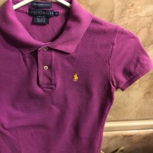 Polo by Ralph Lauren Tops - Polo Ralph Lauren skinny polo xs